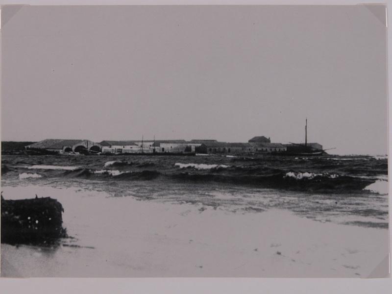 La Tonnara Saline vista dal mare